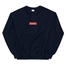Load image into Gallery viewer, Sanitise Box Logo Embroidered Unisex Crewneck