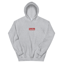 Load image into Gallery viewer, Sanitise Box Logo Embroidered Unisex Hoodie