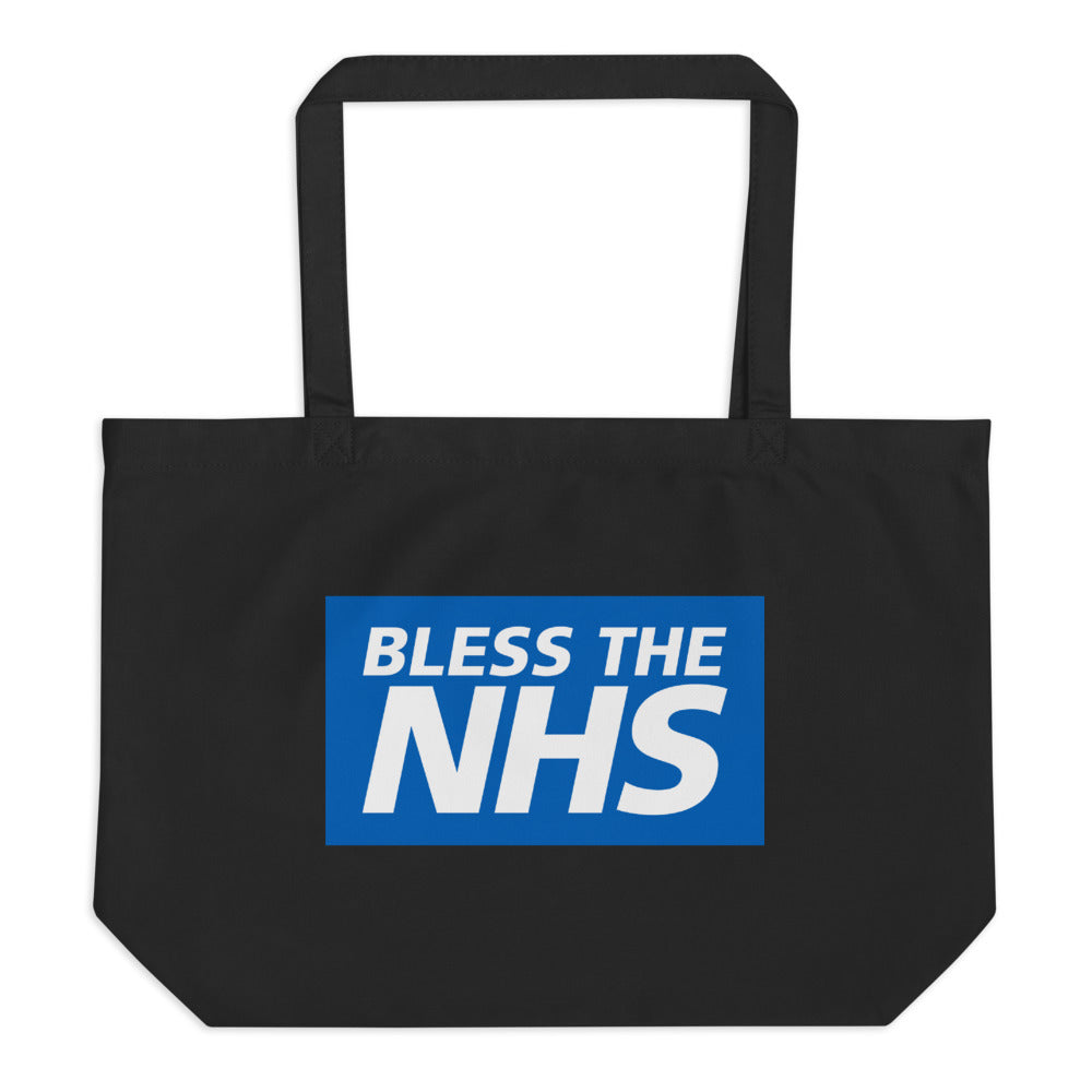 Bless The NHS Large Organic Tote Bag