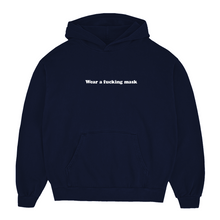 Load image into Gallery viewer, Wear A F**king Mask Unisex Hoodie