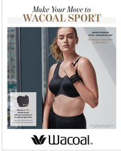 Load image into Gallery viewer, Wacoal #855170 Sport Floating Underwire Bra- Best-Selling Style