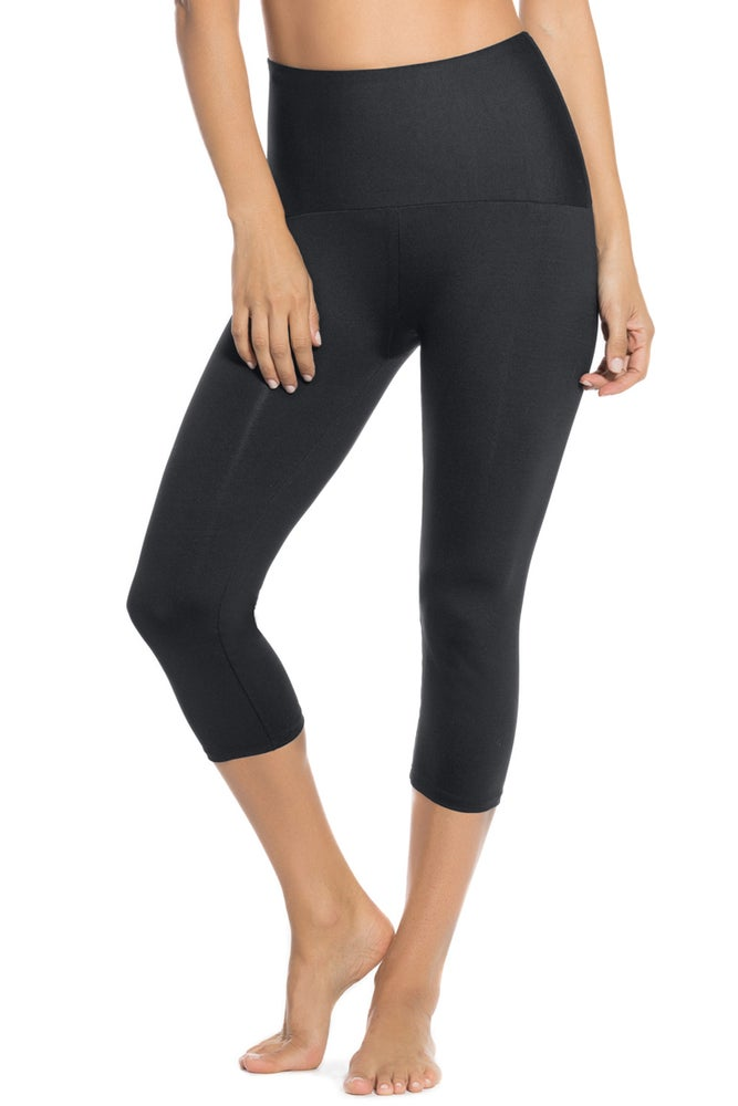 Leonisa Moderate Compression Shaper Capri Leggings