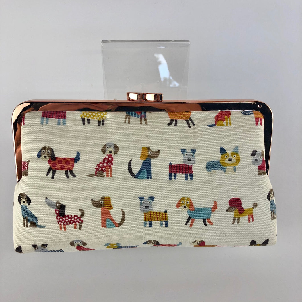 Handmade Dog Clutch