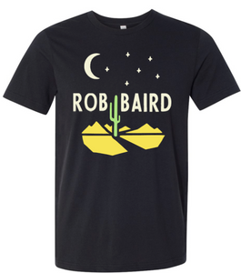 Rob Baird Black Cactus T-shirt