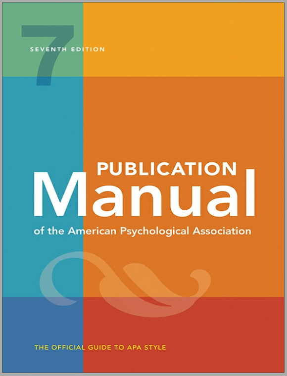 7th Ed Publication Manual of the American Psychological Association