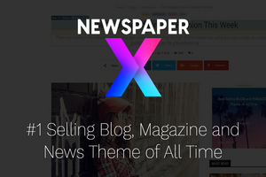 Newspaper X Theme with its Authentic Key