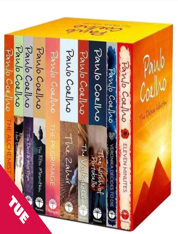 Paulo Coelho's 14 E-Books Collection