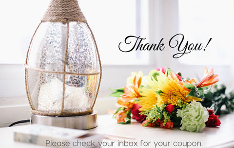 Thank you for subscribing. Please check your inbox for your coupon code.