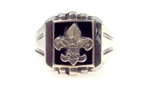 Vintage Boy Scouts Signet Ring