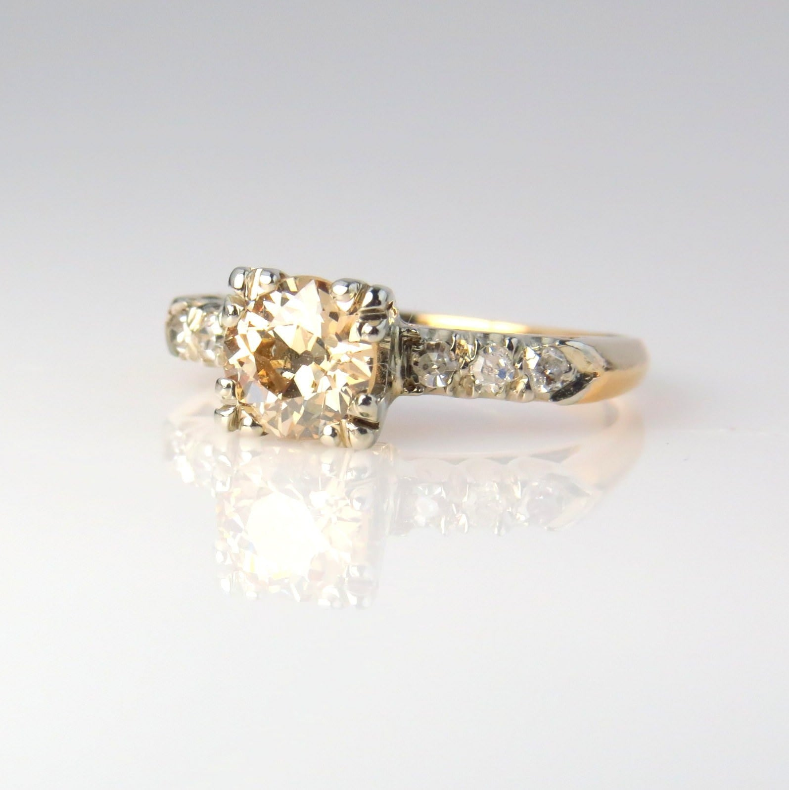 rings h diamond white princess product with cut com engagement ring gold pughsdiamonds solitaire
