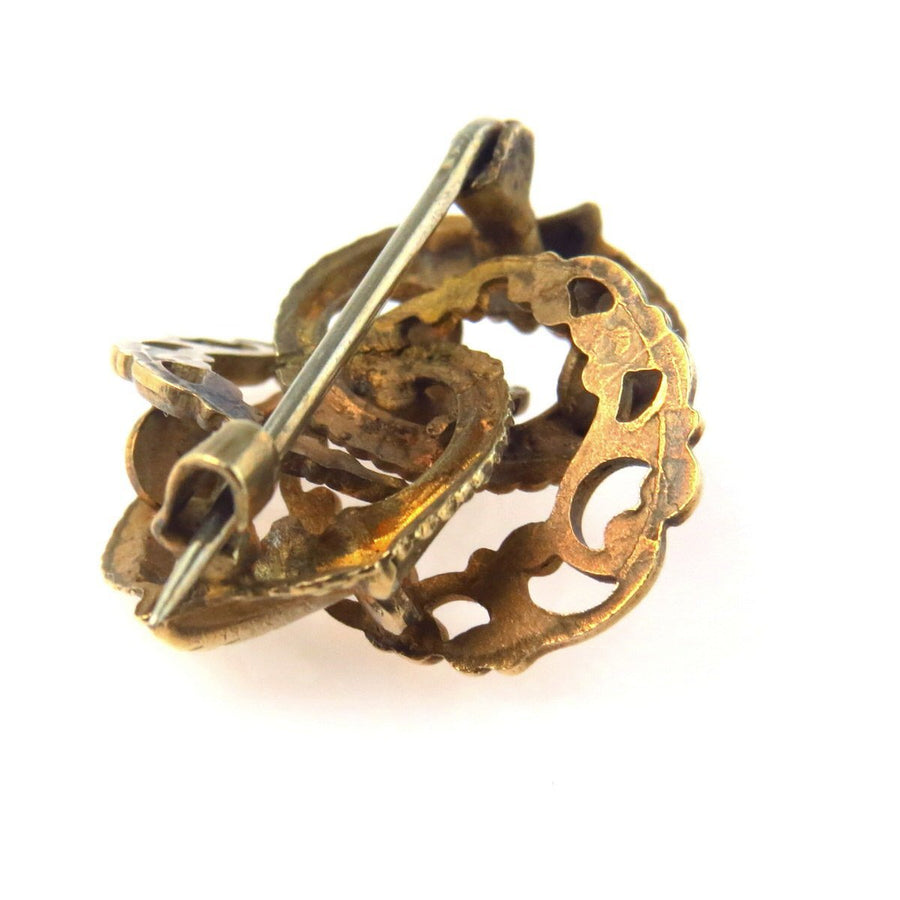 Aesthetic Movement Victorian Love Knot Pin