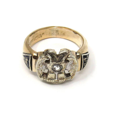 Antique Scottish Rite 32 Degree Masonic Ring