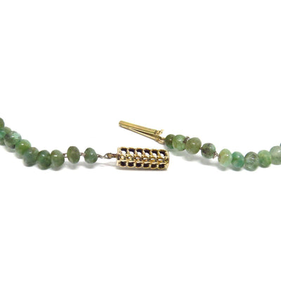 Art Deco Jadeite Jade Graduated Necklace Art Deco, 1920s to 1930s
