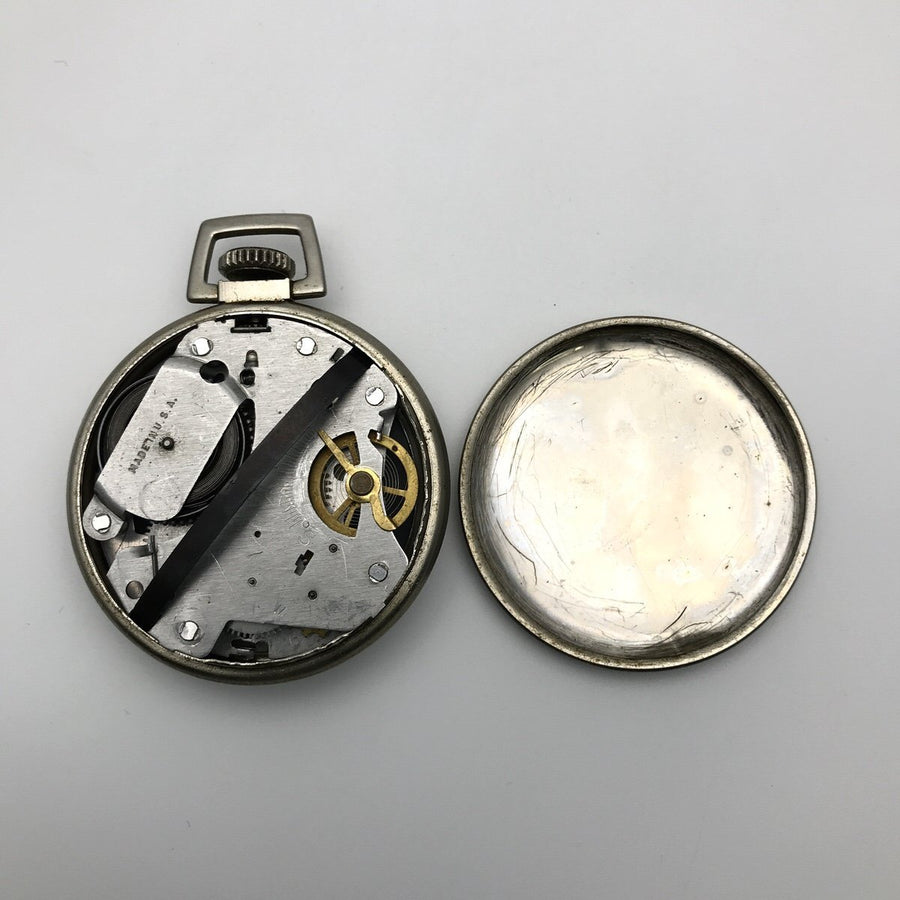 Bradley Vintage Mickey Mouse Pocket Watch