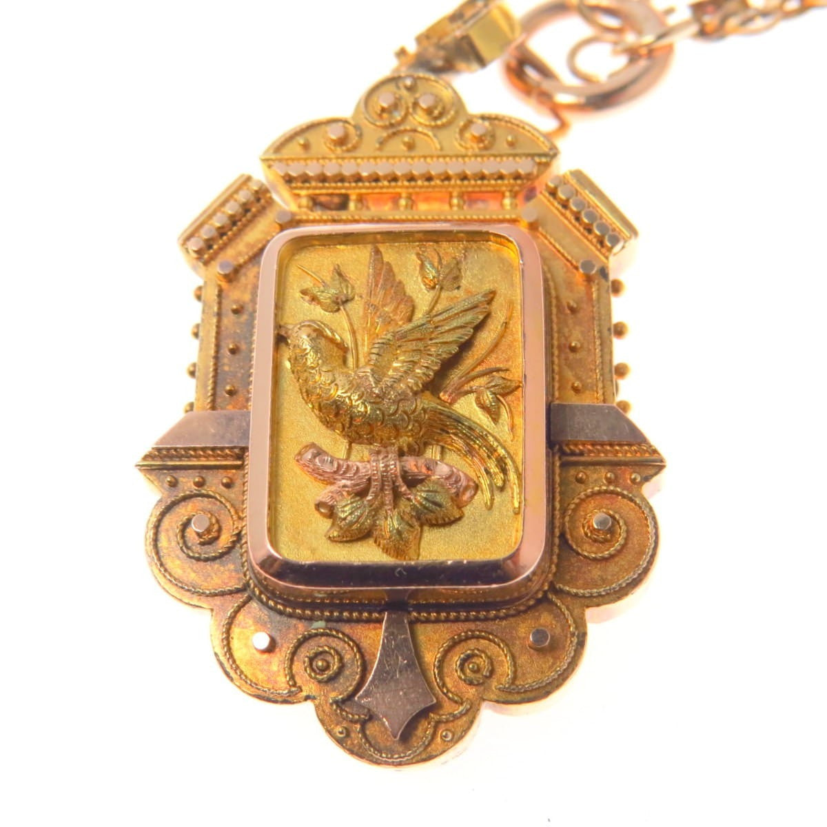 rosywl diamond wj charm edwardian square monogram rose images starburst victorian pinterest fob on locket gold watch best solid lockets