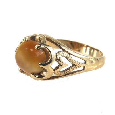panch cats chrysoberyl gempundit ring eye rings panchdhatu design com