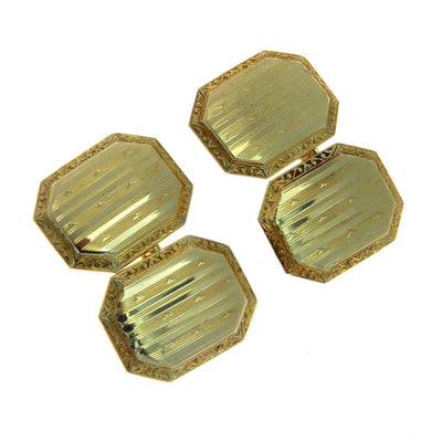 Gold Edwardian Cufflinks Edwardian, 1901 to 1920s