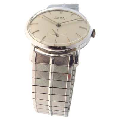 James Bond Gruen Precision Watch Cal 510 Vintage, 1930s to 1980s