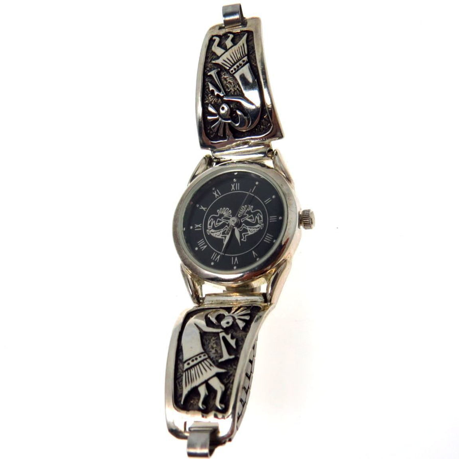 Kokopelli Watch Sterling Silver Tips