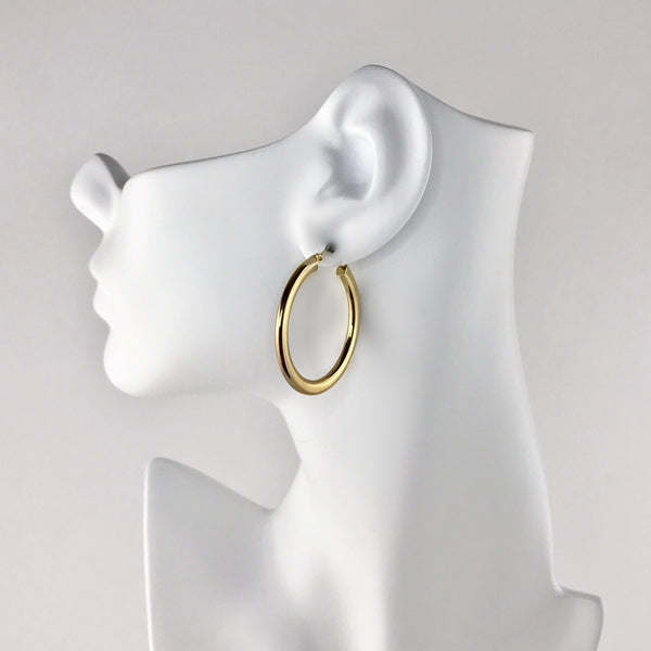 10k Gold Hoop Earrings PreAdored™