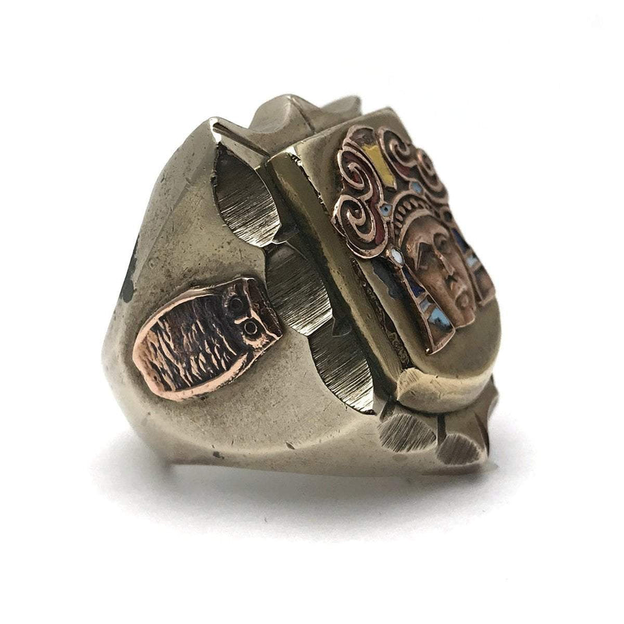 Massive Vintage Mexican Biker Ring PreAdored™