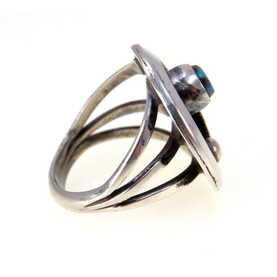 Modernist Sterling Ring Vintage, 1930s to 1980s