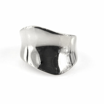 Modernist Sterling Silver Ring Contemporary, Post 1990