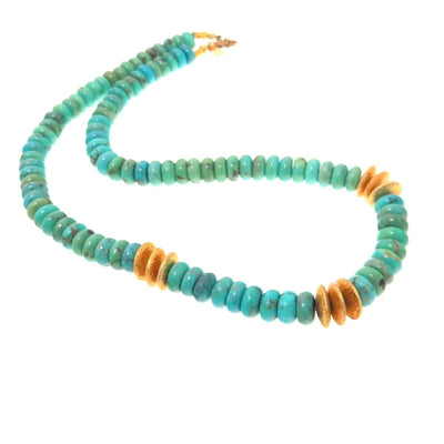 Our Own Turquoise & Vermeil Choker Necklace PreAdored™