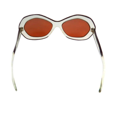 Pierre Marly Iconic Nicky Sunglasses Clear Frames Vintage, 1930s to 1980s