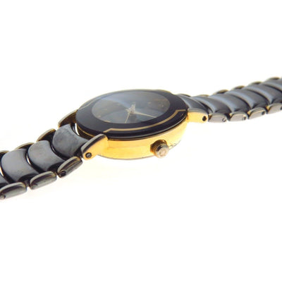 Rado Two Tone Ceramic Ladies' Watch 3710-2035 Vintage, 1930s to 1980s