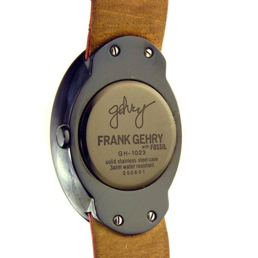 Rare Frank Gehry Analog Quartz Wrist Watch