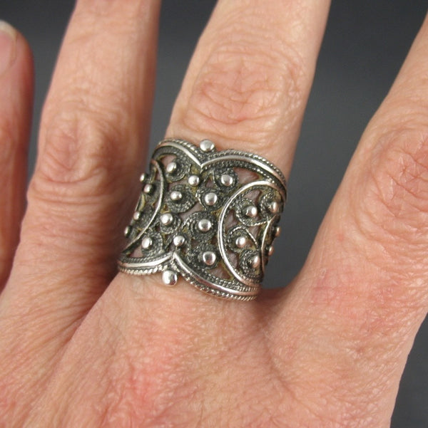 Canetille Ring