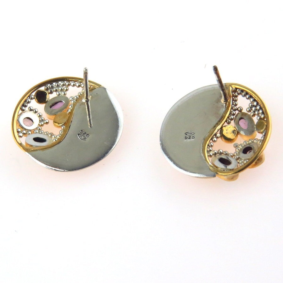 Studio Made Post Modern Sterling Earrings PreAdored™