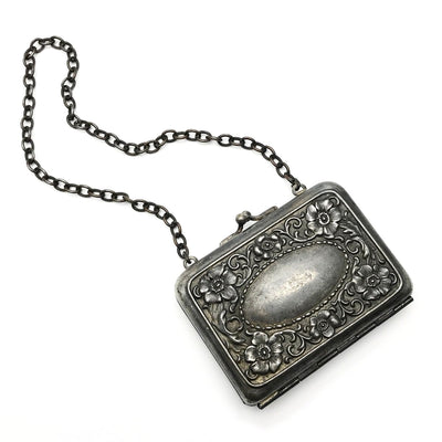 Victorian Silver Plated Coin Purse Etui Victorian, 1830s to 1900s