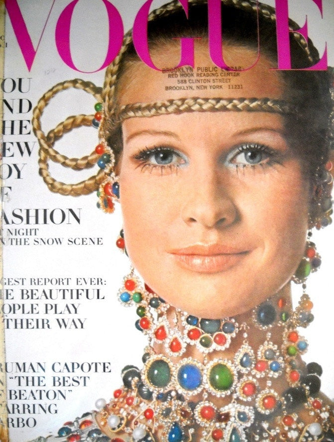 Vogue Magazine November 1, 1968 Back Issue