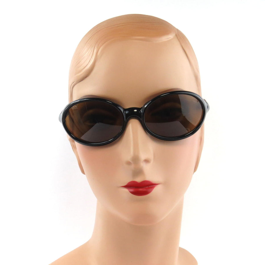 Vuarnet France Sunglasses Style 0098 Black Contemporary, Post 1990