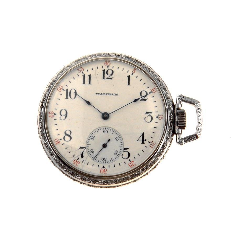 Waltham Sidewinder Art Deco Pocket Watch PreAdored™