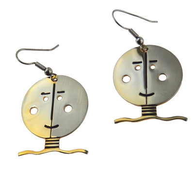 Whimsical Smiling Face Earrings PreAdored™