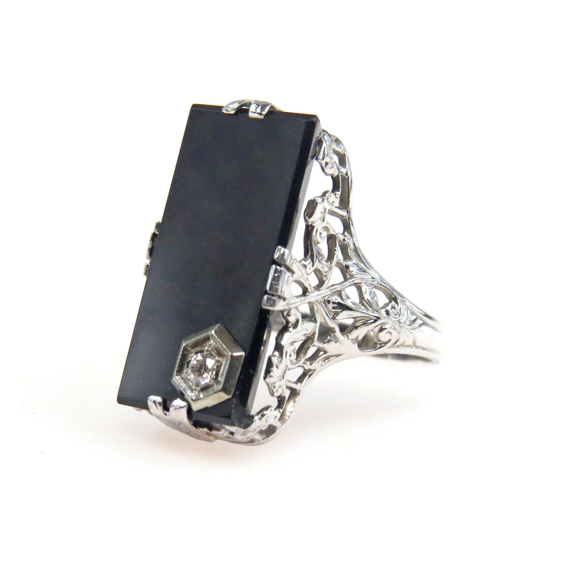 white sauvage and jewelry black cartier ring pave gold diamond
