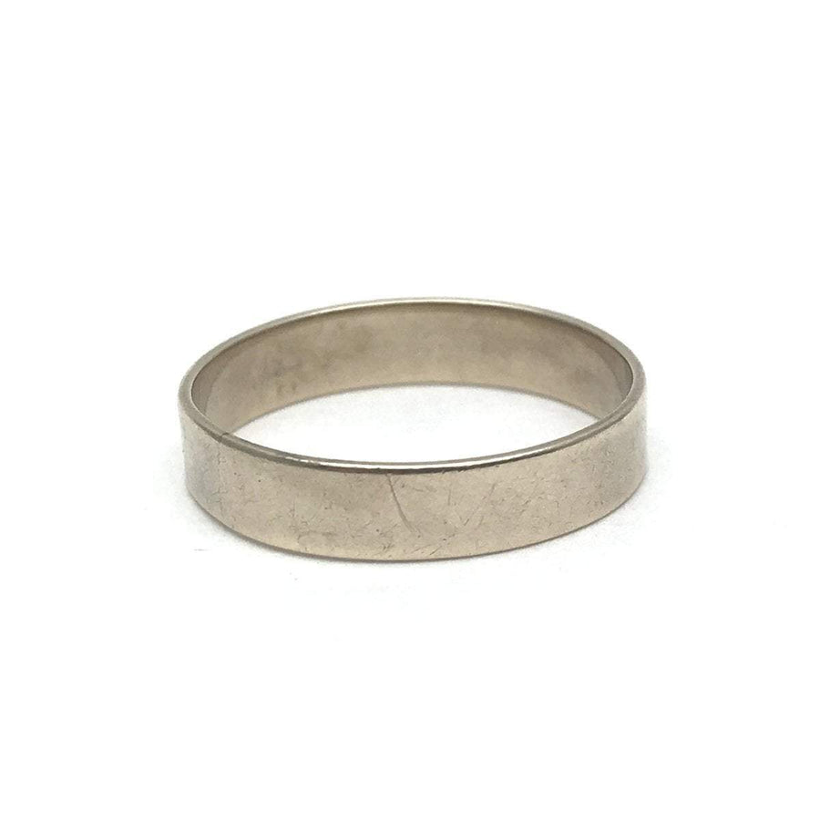 Yellow Gold Wide Band Ring