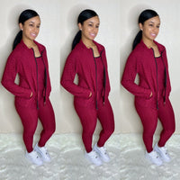 Honeycomb 3PC set (Burgundy)