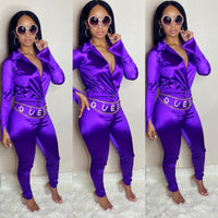 Satin Doll Set (Purple)