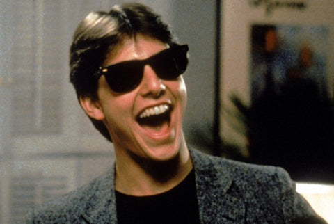 Risky Business Tom Cruise gafas wayfarer