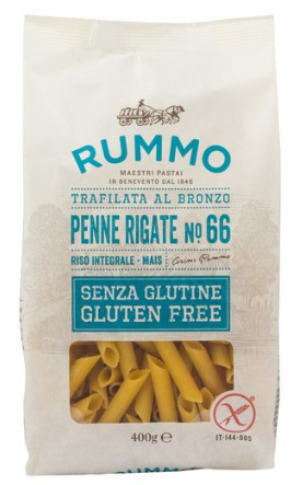 Pasta Rummo - Gluten Free Penne Rigate - 400g/pack