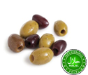 Val d'Elsa Mixed Olives Pitted Marinated 1Kg/Tray