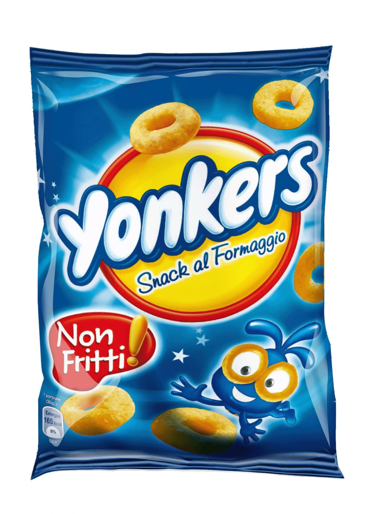 Yonkers,Cheese Chips Bag 100 gr