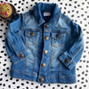 Baby 3-6 month Little Rebel Sustainable Customised soft Denim Jacket