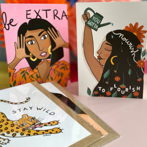 Positive Eco-friendly Letterbox gift for her
