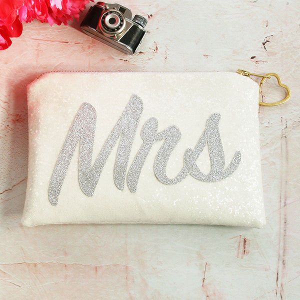 Mrs Glitter Clutch Bag
