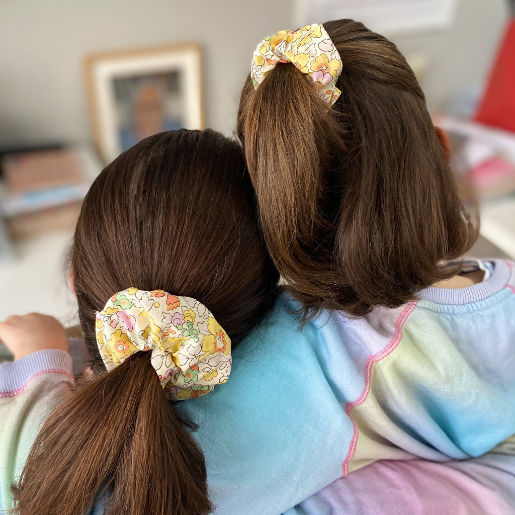 Mother and Daughter Betsy matching Scrunchie Gift Box
